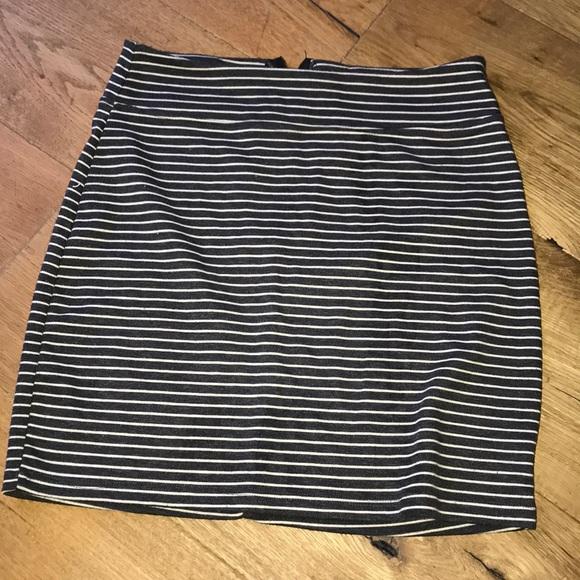 BDG Dresses & Skirts - BDG Skirt - M - grey & cream from H&M